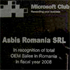 ASBIS Romania Awarded for Largest Sales of Microsoft OEM Products