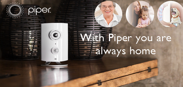 Wifi Surveillance Camera & security System -  Meet Piper