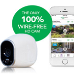 Meet Arlo. The 100% wire-free, weatherproof, HD security camera.