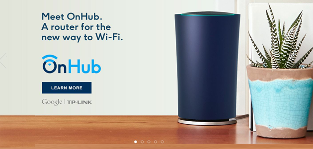 Meet OnHub, a router for the new way to Wi-Fi