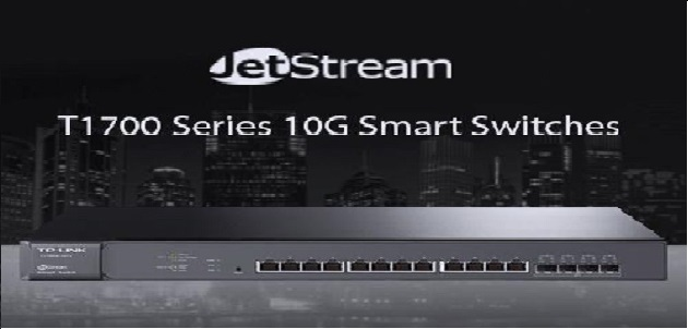 TP-Link® Introduces New JetStream 12-Port 10GBase-T Smart Switches Built for Business