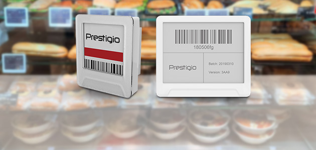 ASBIS launches Prestigio ePrice Labels and implements the first pilot project at a market leader in the Baltic countries