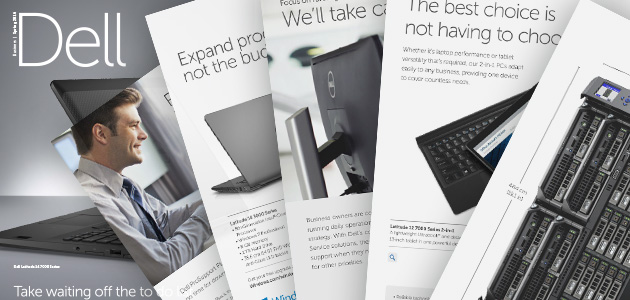 Explore the new edition of Dell product catalogue